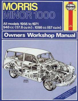 Morris Minor 1000 1956 - 1971 Workshop Manual