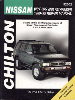 Nissan Pick-Ups and Pathfinder 1970 - 1988 Workshop Manual