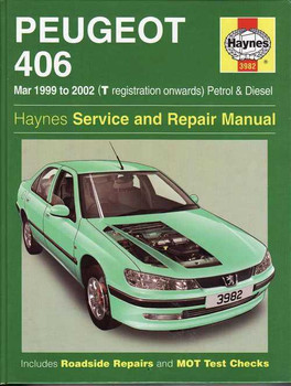 Peugeot 406 1999 - 2002 Workshop Manual