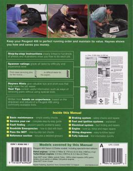 Peugeot 406 1999 - 2002 Workshop Manual