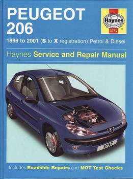 Peugeot 206 1998 - 2001 Workshop Manual