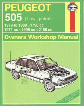 Peugeot 505 1971 - 1995 Workshop Manual