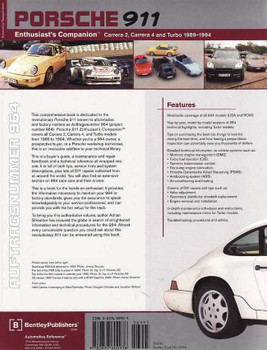 Porsche 911 (964) Enthusiast's Companion: Carrera 2, Carrera 4 and Turbo 1989 -