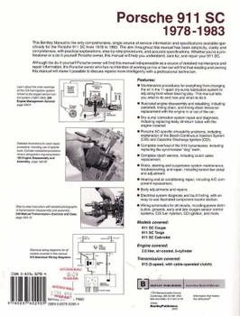 Porsche 911 SC 1978 - 1983 Workshop Manual