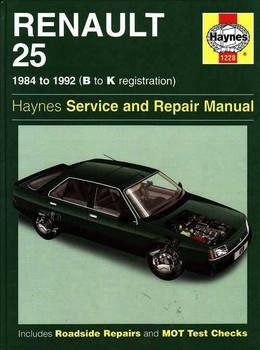 Renault 25 1984 - 1992 Workshop Manual