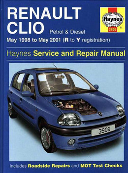Renault Clio 1998 - 2001 Workshop Manual