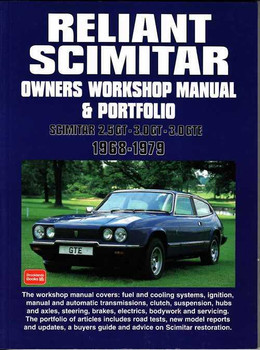 Reliant Scimitar 1968 - 1979 Workshop Manual