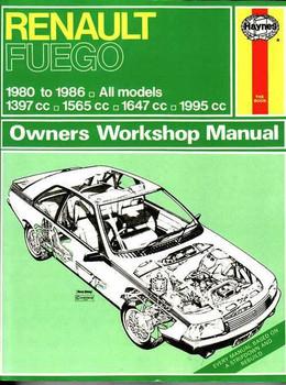 Renault Fuego 1980 - 1986 Workshop Manual