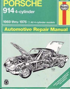 Porsche 914 1969 - 1976 Workshop Manual