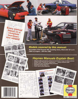 Porsche 924 and Turbo 1976 - 1982 Workshop Manual