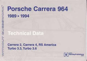 Porsche Carrera 964 1989 - 1994 Technical Data