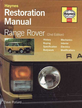 Range Rover Restoration Manual (2nd Edition)