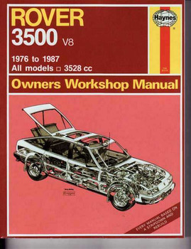 Rover 3500 1976 - 1987 Workshop Manual