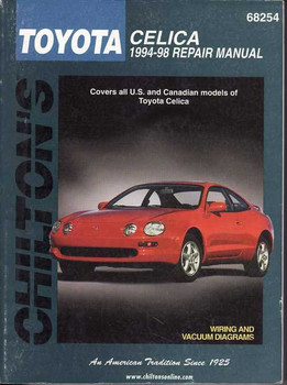 Toyota Celica 1994 - 1998 Workshop Manual