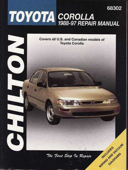Toyota Corolla 1988 - 1997 Workshop Manual
