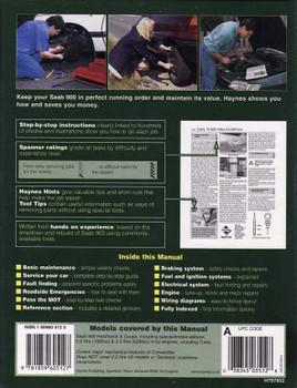 Saab 900 1993 - 1998 Workshop Manual
