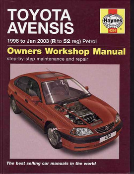Toyota Avensis 1998 - 2003 Workshop Manual