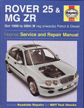 Rover 25 & MG ZR 1999 - 2004 Workshop Manual