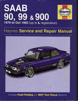 Saab 90, 99 & 900 1979 - 1993 Workshop Manual