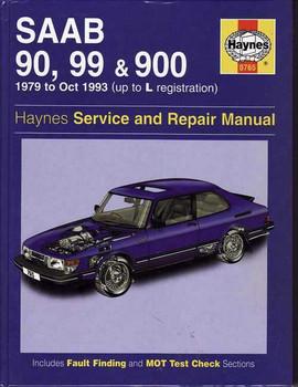 Saab 90, 99 & 900 1979 - 1993 Workshop Manual