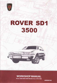 Rover 3500 SD1 1976 - 1982 Workshop Manual