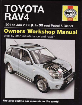 Toyota RAV4 1994 - 2006 Workshop Manual