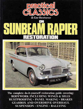 Sunbeam Rapier Restoration