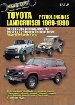 Toyota Land Cruiser FJ Series FJ40, FJ45, FJ55, FJ60 1975
