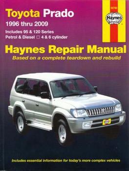 Toyota Prado 1996 - 2006 Workshop Manual