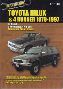 Toyota Hi-Lux & 4Runner Diesel LN Series 1979 - 1997 Workshop Manual - front