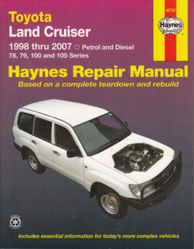 Toyota Land Crusier 78, 79, 100, 105 Repair Manual