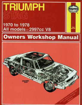 Triumph Stag 1970 - 1978 Workshop Manual