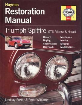 Triumph Spitfire GT6, Vitesse & Herald Restoration Manual