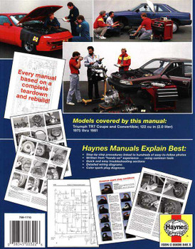 Triumph TR7  1975 - 1981 Workshop Manual