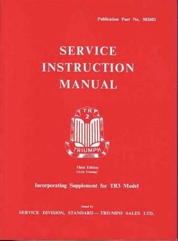 Triumph TR2 & TR3 Workshop Manual