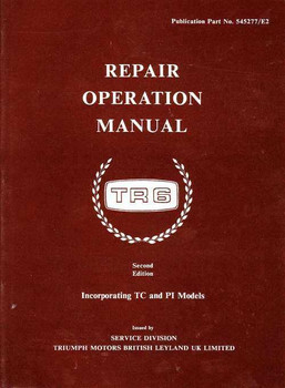 Triumph TR6 Workshop Manual