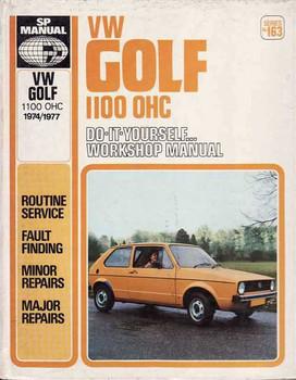 Volkswagen Golf 1100 OHC 1974 - 1977 Workshop Manual