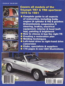 How to Restore Triumph TR7 & 8 - Enthusiast's Restoration Manual