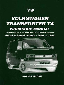 Volkswagen Transporter T4 1990 - 1995 Workshop manual