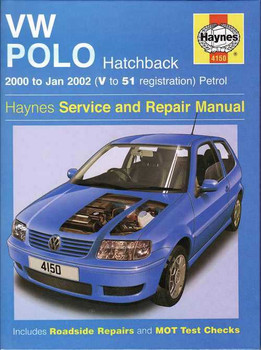 Volkswagen Polo 2000 - 2002 Workshop Manual
