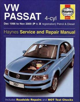 Volkswagen Passat 1996 - 2000 Workshop Manual