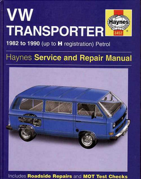 Volkswagen Transporter 1982 - 1990 Workshop Manual