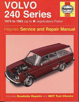Volvo 240 Series 1974 - 1993 Workshop Manual