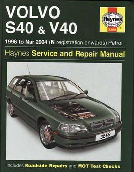 Volvo S40 & V40 1996 - 2004 Workshop Manual