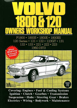 Volvo 1800 & 120 1960 - 1973 Workshop Manual
