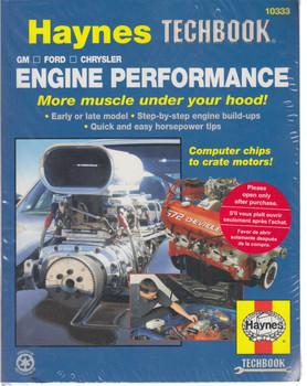 Haynes Engine Performance - GM - Ford - Chrysler (Techbook Series) (9781563926938)
