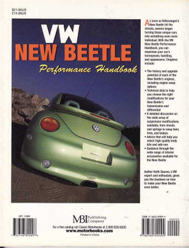 Volkswagen New Beetle Performance Handbook