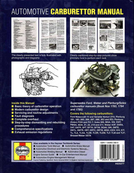 Automotive Carburettor Manual