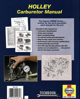The Haynes Holley Carburetor Manual (Haynes Techbook)