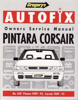 Nissan Pintara U12 & Ford Corsair R12 1989 - 1993 Workshop Manual